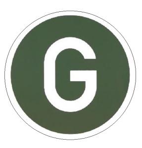 Hinweisschild für Kraftfahrzeuge, Kennzeichen Geräuscharmer LKW (Deutschland) (Ausführung: Hinweisschild für Kraftfahrzeuge, Kennzeichen Geräuscharmer LKW (Deutschland) (Art.Nr.: 21.1820))