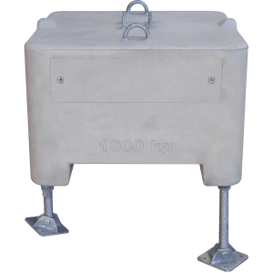 Höhenausgleichsplatte für Beton-Aufstellvorrichtung, aus Stahl (Ausführung: Höhenausgleichsplatte für Beton-Aufstellvorrichtung, aus Stahl (Art.Nr.: 35906))