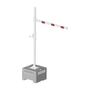 Höhenbegrenzer mobil, auf Beton-Aufstellvorrichtung, variable Durchfahrtshöhe, versch. Breiten