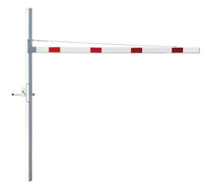 Höhenbegrenzer zum Einbetonieren, Breiten 2000 - 4500 mm, Durchfahrtshöhe 1800 - 2800 mm