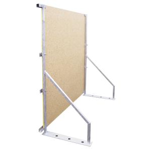 Holzbauzaun-Element -Woody-, 2000 x 2170 mm (Ausführung: Holzbauzaun-Element -Woody-, 2000 x 2170 mm (Art.Nr.: 24297))