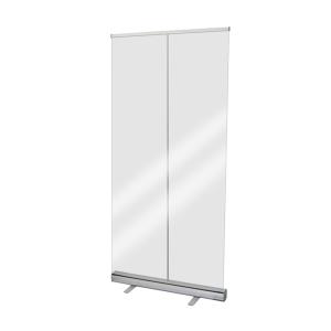 Hygiene-Roll-Up aus transparenter PET-Folie, Höhe 2200 mm, Breite 850 oder 1000 mm (Breite: 850 mm (Art.Nr.: 39937))