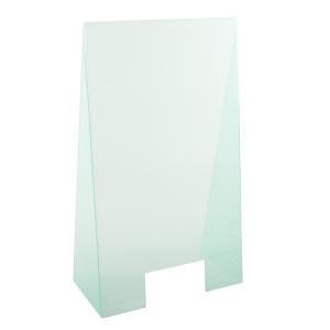 Hygiene-Trennwand -Fresh-, aus Acrylglas, Höhe 990 mm, Breite 600 mm, mit Durchreiche (Ausführung: Hygiene-Trennwand -Fresh-, aus Acrylglas, Höhe 990 mm, Breite 600 mm, mit Durchreiche (Art.Nr.: 40534))