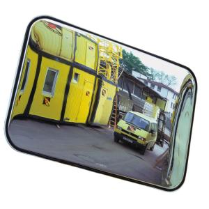 Industriespiegel -SPION- aus Kunststoff (Maße (BxH)Max. Beobachterabstand/Gewicht: 600x400mm/ca. 5m/5 kg (Art.Nr.: 20016))
