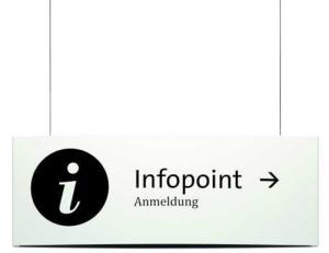Infoleiste -PacificX- aus Aluminium, zur Deckenbefestigung, doppelseitig (Ausführung: Infoleiste -PacificX- aus Aluminium, zur Deckenbefestigung, doppelseitig (Art.Nr.: mo1090))