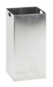 Innenbehälter für Abfallbehälter -Carro-Swing- 55 oder 110 Liter aus Aluminium, feuerfest (Modell: für 55 Liter (Art.Nr.: 37519))