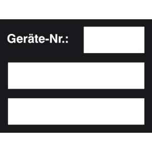 Inventarkennzeichnungsetiketten, Geräte-Nr.:, Bogenware (Farbe: violett (Art.Nr.: 30.1024))