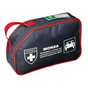 KFZ-Verbandtasche -MONZA-, Inhalt nach DIN 13164 (Ausführung: KFZ-Verbandtasche -MONZA-, Inhalt nach DIN 13164 (Art.Nr.: hm62172))
