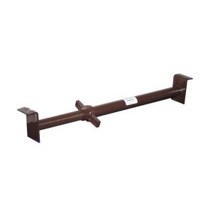 Kanalstrebe -Perfekt-, Ø 48 mm, nach DIN 4124, verschiedene Rohrlängen (Rohrlänge/Belastung:  <b>700-1170 mm</b><br>65,5kN-61,10kN (Art.Nr.: 20231))
