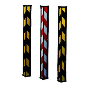 Kanten-, Warn- und Schutzwinkel aus Kunststoff, metallverstärkter Kern, Länge 900 mm, VPE 2 Stk. (Farbe/Menge: schwarz/gelb / VPE 2 Stk. (Art.Nr.: 19113))