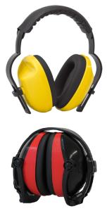 Kapselgehörschützer -ClassicLine-, 27 dB SNR, gem. DIN-EN 352-1:2002, Kopfbügel wahlweise faltbar (Modell: Kopfbügel,  <b>nicht faltbar</b> (Art.Nr.: 32061))