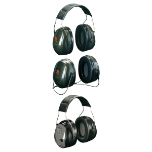 Kapselgehörschützer -Deaf II-, 31 dB SNR, wahlweise als Kopfbügel, PTL-Kopfbügel oder Nackenbügel (Modell: Kopfbügel, faltbar (Art.Nr.: 32053))