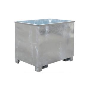 Kasten -Typ C-, ideal für Feststoffe, stapelbar, mit Einfahrbügel