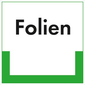 Kennzeichnungsschild Folien (Maße (BxH)/Material: 100x100mm/Folie,selbstklebend/ umweltschonend (Art.Nr.: 35.6689))