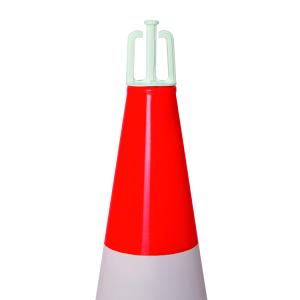 Kettenhaken für PVC-Leitkegel, zur Befestigung von Absperrketten oder -bändern, VPE 10 Stk. (Ausführung: Kettenhaken für PVC-Leitkegel, zur Befestigung von Absperrketten oder -bändern, VPE 10 Stk. (Art.Nr.: 36978))