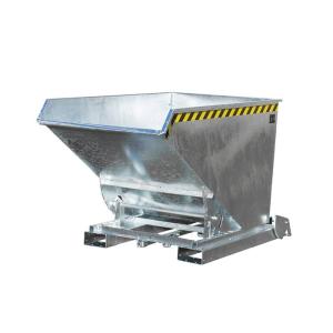 Kippbehälter -Typ 4A-, Abrollsystem mit automatischer Entriegelung, mit Einfahrtaschen