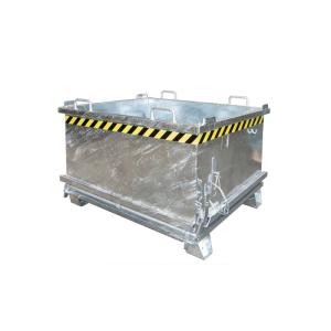 Klappbodenbehälter -Typ SB-, mit Bodenentleerung