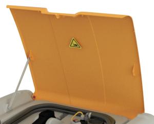 Klappdeckel für -DT-Mobil Easy- 210 oder 440 Liter, -DT-Mobil Easy- 210 Liter und -DT-Mobil Easy Combi- 440 Liter (Modell: für -DT-Mobil Easy- 210 Liter (Art.Nr.: 37004))