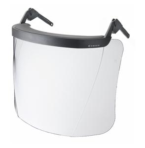 Klarsichtvisier aus Polycarbonat für Schutzhelme mit 16 oder 30 mm Stecktaschen (für Stecktaschen: 30 mm (Art.Nr.: 35099))