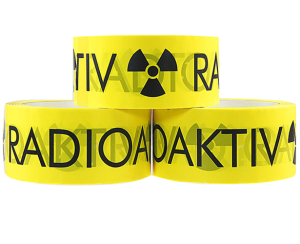 Klebeband -Radioaktiv-, Breite 50 mm, Länge 66 m (Ausführung: Klebeband -Radioaktiv-, Breite 50 mm, Länge 66 m (Art.Nr.: rk1006))