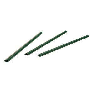 Klemmschienen für Sichtschutzstreifen, VPE 25 Stk. (Farbe/Menge:  <b>moosgrün (RAL 6005)</b> / VPE 25 Stk. (Art.Nr.: 24679))