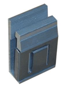 Klemmteil zur Stahlbandbefestigung, für Alform-VZ (Ausführung: Klemmteil zur Stahlbandbefestigung, für Alform-VZ (Art.Nr.: rkkbe0))