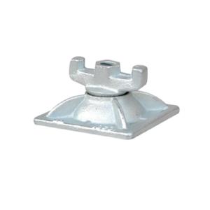 Kombi-Platte 8F 12 / 12, für Ankerstab 15 mm, VPE 10 Stk. (Ausführung: Kombi-Platte 8F 12/12, für Ankerstab 15 mm, VPE 10 Stk. (Art.Nr.: 11309))