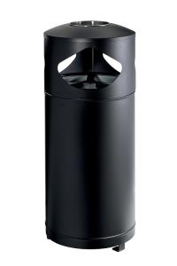 Kombiascher -Pro 31- 105 Liter aus Stahl mit 3 Einzelbehältern, abschließbar (Ausführung: Kombiascher -Pro 31- 105 Liter aus Stahl mit 3 Einzelbehältern, abschließbar (Art.Nr.: 37064))