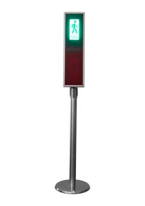 Kundenampel / Ampelsystem zur Steuerung von Publikumsverkehr, per Fernsteuerung (Ausführung: Kundenampel/Ampelsystem zur Steuerung von Publikumsverkehr, per Fernsteuerung (Art.Nr.: 40538))