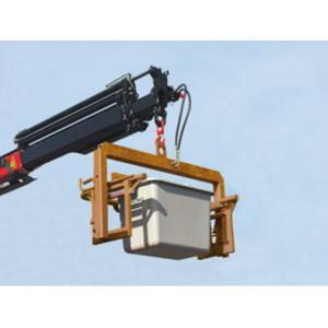 Ladebügel, hydraulisch (kippbar) für Streugutbehälter -CEMO- 400, 550, 700 Liter (Ausführung: Ladebügel, hydraulisch (kippbar) für Streugutbehälter -CEMO- 400, 550, 700 Liter (Art.Nr.: 13956))