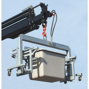 Ladebügel, starr für Streugutbehälter -CEMO- 200, 400, 700 Liter (Modell: für Streugutbox 200 Liter (Art.Nr.: 13958))