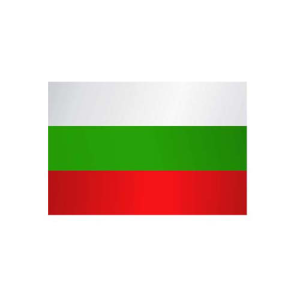 Länderflagge Bulgarien, Stoffqualität FlagTop 110 g / m² oder 160 g / m² (Maße (LxB)/Format/Konfektionierung/Stoffqualität:  <b>60 x 90 cm</b> (Querformat)<br>mit Seil und Schlaufe<br>FlagTop  <b>110 g/m²</b><br>für