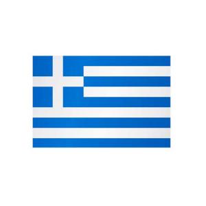Länderflagge Griechenland, Stoffqualität FlagTop 110 g / m² oder 160 g / m² (Maße (LxB)/Format/Konfektionierung/Stoffqualität:  <b>60 x 90 cm</b> (Querformat)<br>mit Seil und Schlaufe<br>FlagTop  <b>110 g/m²</b><br>fü