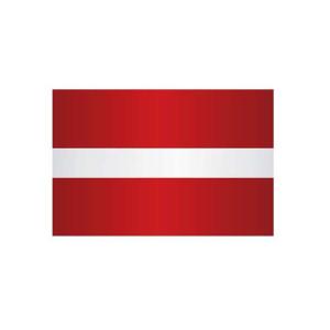 Länderflagge Lettland, Stoffqualität FlagTop 110 g / m² oder 160 g / m² (Maße (LxB)/Format/Konfektionierung/Stoffqualität:  <b>60 x 90 cm</b> (Querformat)<br>mit Seil und Schlaufe<br>FlagTop  <b>110 g/m²</b><br>für F