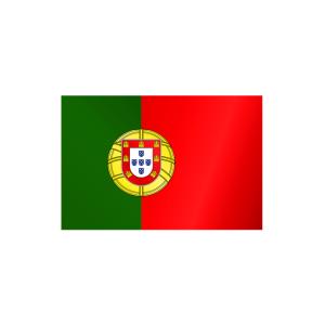 Länderflagge Portugal, Stoffqualität FlagTop 110 g / m² oder 160 g / m² (Maße (LxB)/Format/Konfektionierung/Stoffqualität:  <b>60 x 90 cm</b> (Querformat)<br>mit Seil und Schlaufe<br>FlagTop  <b>110 g/m²</b><br>für F