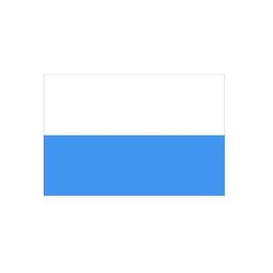 Länderflagge San Marino (ohne Wappen), Stoffqualität FlagTop 110 g / m² oder 160 g / m² (Maße (LxB)/Format/Konfektionierung/Stoffqualität:  <b>60 x 90 cm</b> (Querformat)<br>mit Seil und Schlaufe<br>FlagTop  <b>110 g/m²</