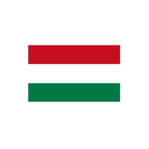 Länderflagge Ungarn, Stoffqualität FlagTop 110 g / m² oder 160 g / m² (Maße (LxB)/Format/Konfektionierung/Stoffqualität:  <b>60 x 90 cm</b> (Querformat)<br>mit Seil und Schlaufe<br>FlagTop  <b>110 g/m²</b><br>für Fah