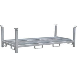 Lager- und Transportpalette für Fußplatten K1 (Ausführung: Lager- und Transportpalette für Fußplatten K1 (Art.Nr.: 3b214))