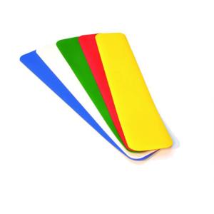 Lagerplatzkennzeichnung -WT-5112- Längsstücke, für Innenbereich, Breite 50 und 75 mm, VPE 20 Stk. (Breite/Farbe/Verpackungseinheit: 50 mm /  <b>rot</b> / VPE 20 Stk. (Art.Nr.: 31790))
