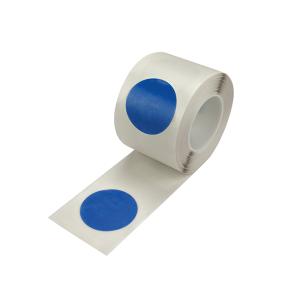 Lagerplatzkennzeichnung -WT-5126- Ronden, für den Innenbereich, Rollenware (Breite/Länge/Farbe: 50 mm / 10 m /  <b>gelb</b> (Art.Nr.: 39355))