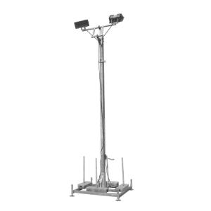 Lampenmast aus Stahl, Höhe 5,50 m (Ausführung: Lampenmast aus Stahl, Höhe 5,50 m (Art.Nr.: 40314))