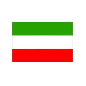 Landesflagge Nordrhein-Westfalen (ohne Wappen), Stoffqualität FlagTop 110 g / m² oder 160 g / m² (Maße (LxB)/Format/Konfektionierung/Stoffqualität:  <b>60 x 90 cm</b> (Querformat)<br>mit Seil und Schlaufe<br>FlagTop  <b>110 g/m&sup