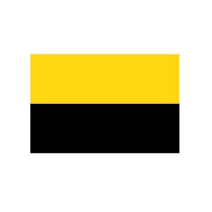 Landesflagge Sachsen-Anhalt (ohne Wappen), Stoffqualität FlagTop 110 g / m² oder 160 g / m² (Maße (LxB)/Format/Konfektionierung/Stoffqualität:  <b>60 x 90 cm</b> (Querformat)<br>mit Seil und Schlaufe<br>FlagTop  <b>110 g/m²</b
