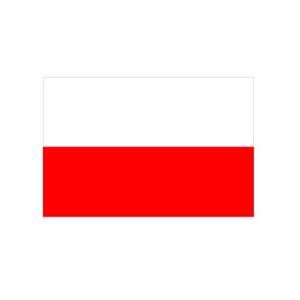 Landesflagge Thüringen (ohne Wappen), Stoffqualität FlagTop 110 g / m² oder 160 g / m² (Maße (LxB)/Format/Konfektionierung/Stoffqualität:  <b>60 x 90 cm</b> (Querformat)<br>mit Seil und Schlaufe<br>FlagTop  <b>110 g/m²</b