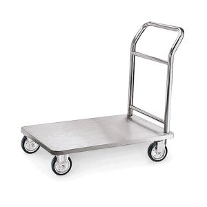 Lastenwagen -WSA2-, Tragfähigkeit 130 kg, aus Edelstahl (Ausführung: Lastenwagen -WSA2-, Tragfähigkeit 130 kg, aus Edelstahl (Art.Nr.: 37224))