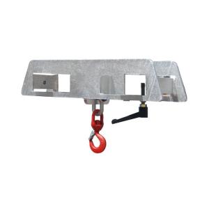 Lasthaken -Typ LH-II- aus Stahl, Aufnahme mit 2 Gabelzinken