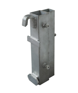 Leitplankenhalterung Typ 1 aus Stahl, für kurzfristige Einsätze (Ausführung: Leitplankenhalterung Typ 1 aus Stahl, für kurzfristige Einsätze (Art.Nr.: 35313-40))