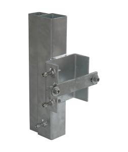 Leitplankenhalterung Typ 2 nach TL aus Stahl, für langfristige Einsätze (Ausführung: Leitplankenhalterung Typ 2 nach TL aus Stahl, für langfristige Einsätze (Art.Nr.: 35849))