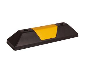 Leitschwelle -Parkway Mini-, Länge 550 mm, Höhe 100 mm, schwarz / gelb oder gelb / schwarz (Farbe: gelb mit schwarzem Einleger (Art.Nr.: 36410))