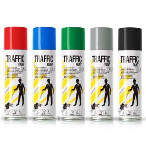 Linien-Markierfarbe -Traffic-, 500 ml, versch. Farben, langfristig und schnelltrocknend